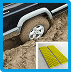 Sand Ladders, Waffle Boards, Bridging Ladders, Vehicle Recovery - Safe Tread