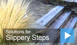 Video: Solutions for Slippery Steps